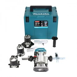 Makita DRT50Z 18V Router Trimmer Draadloze borstelloze behuizing